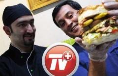 اگر رژیم غذایی دارید، بی خیال این ویدئو شوید؛ از همبرگر 25 سانتی تا پیتزاها و ساندویچ های غول پیکر!