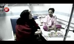 اگر طاقتش را ندارید، نبینید: ویدئویی از شب یلدای بهاره رهنما در کنار کودکان سرطانی بیمارستان علی اصغر