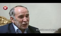 اشک های حزن انگیز سرآشپز کاخ ریاست جمهوری ایران که پسرش را تقدیم خاک ایران کرد