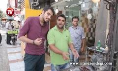 میدان بهمن، قلب جگرهای تهران!/شرط بندی پسر ایرانی سر خوردن 160 سیخ جگر!+فیلم