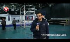 سردار آزمون: هر کی حاضر شه دخترش رو به من بده، همین الان عروسی می کنم!/آنچه از پشت صحنه حضور ستاره تیم ملی ایران در برنامه علی ضیاء در تلویزیون ندیدید