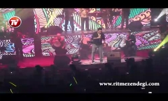 گزارش ویدئویی اختصاصی تی وی پلاس از شب پر ستاره کنسرت امید حاجیلی