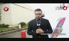 تنها ویدئوی منتشر شده از مراسم رد کارپت پُر ستاره اختتامیه فیلم فجر زیر باران شدید تهران