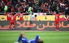 لحظه گل اول پرسپولیس به استقلال- علیپور ورزشگاه آزادی را منفجر کرد