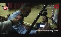 ویدئوی خوانندگی مجری مشهور تلویزیون در پشت صحنه اختتامیه جشنواره فیلم فجر/آنچه از مراسم اختتامیه جشنواره ندیدید