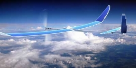 هواپیمای اینترنتی گوگل سقوط کرد