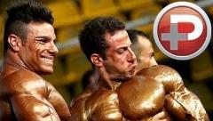 ویدئویی از مسابقه داغ پرورش اندام در افغانستان؛ مردانی با ظاهر منشوری!
