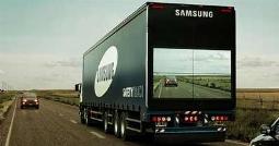 ابتکار جالب کمپانی سامسونگ برای کامیون های جاده ای