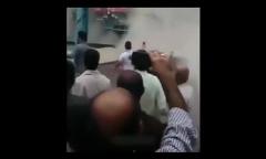 ویدئوی لحظه فرو ریختن دو ساختمان در مازندران بر اثر سیل