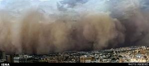 توفان دیروز تهران و کرج، گزارش تصویری