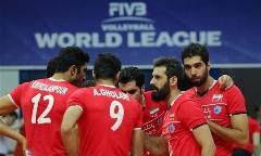 گزارش تصویری دیدار تیم های والیبال ایران و روسیه