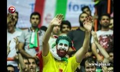 گزارش تصویری حواشی برد دیشب تیم ملی والیبال