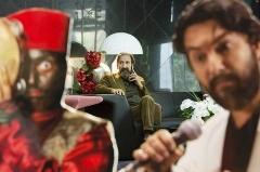 حامد بهداد، ستاره و لاله اسکندری، شیلا خداداد و مهدی فخیمِزاده در مراسم رونمایی از «دندون طلا» /گزارش تصویری