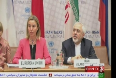 ویدئوی سخنرانی محمدجواد ظریف در نشست عمومی وزرای خارجه ایران و ۱+۵ با اعلام توافق هستهای