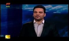 جشن و قدردانی احسان علیخانی به افتخار تیم هسته ای ایران روی آنتن تلویزیون
