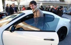 کلکسیون اتومبیل های لوکس مسی؛ گزارش تصویری