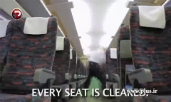 ویدئویی شگفت انگیز از خدمات نظافتی سریع ترین سرویس حمل و نقل ریلی ژاپن