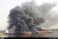 روایتی از سه لنج ایرانی که در دبی آتش گرفتند