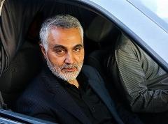سردار سلیمانی در بزرگداشت شهید جنگ با داعش
