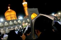 گزارش تصویری شب احیا در حرم مطهر امام رضا (ع)
