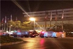 آتش سوزی در هتل هرمز بندرعباس