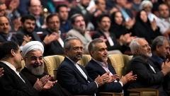 واکنش های روحانی، ظریف، هاشمی و دیگر اعضای هیات دولت در لحظه اجرای گروه کُر سالمندان