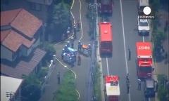 سقوط هواپیمای شخصی روی یک منزل مسکونی در ژاپن!