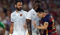 کله زیدانی لیونل مسی به صورت بازیکن رم ایتالیا!