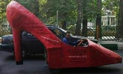 مردی که با کفش پاشنه بلند در خیابان رانندگی می کند!/گفتگو با کفاش دلیوری هدیه تهرانی و بهرام رادان