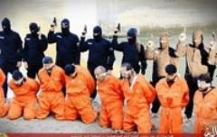 شیوه جدید و وحشیانه داعش با اعدام های دسته جمعی: 18+