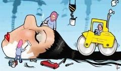 پشت پرده کلاهبرداری های آرایشگاه های زنانه: خانم ها! مراقب موهای تقلبی اکستنشن کارها باشید