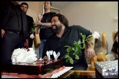 رضا صادقی ۳۶ ساله شد، اما شمع تولد 37 سالگی را فوت کرد!