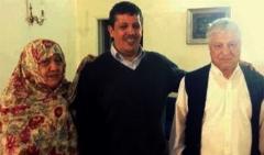 فیلم لحظه وداع آیت الله هاشمی رفسنجانی با مهدی پیش از رفتن به زندان
