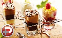 کافه تی وی پلاس: یک دسر بستنی شکلاتی ساده و خوشمزه که بعد از غذا خیلی می چسبه
