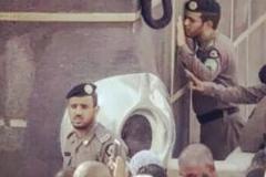 تخلف عجیب پلیس عربستان کنار کعبه