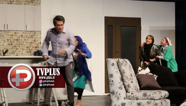 ویدیویی از درگیری فیزیکی آقا و خانم بازیگر بخاطر خیانت در سالن تئاتر تهران/ اختصاصی تی وی پلاس