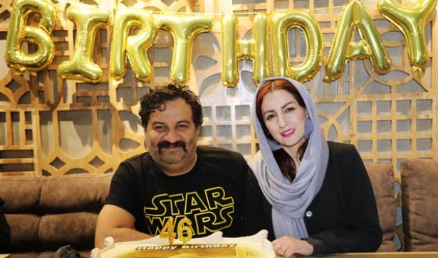 فیلم جشن تولد خصوصی مهراب قاسم خانی در کافه لوکس خیابان فرشته