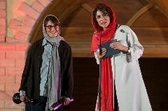 ویشکا آسایش، صابر ابر، مهناز افشار، مریلا زارعی، ناصر تقوایی و لیلا حاتمی در مراسم جشن خانه سینما