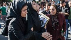بیت الله عباسپور در میان اشک های مادر، همسر و دوستانش در خاک آرام گرفت/گزارش اختصاصی از مراسم تشییع پیکر قهرمان پرورش ادام جهان