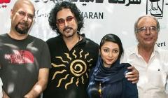 مهتاب کرامتی و جناب خان مهمانان ویژه کنسرت بزرگ محسن شریفیان در شب درخشش دخترش روی صحنه