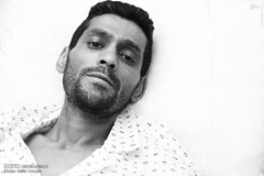 قهرمان کشتی ایران در چنگال سرطان/گزارش تصویری