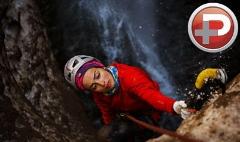 نترس ترین دختر ایران را ببینید؛ قهرمانی که از یخ ها بالا می رود و جهانی شده است/گروه ورزش شبکه تی وی پلاس تقدیم می کند