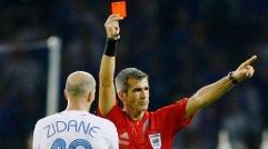 ۱۰ کارت قرمز جنون آمیز تاریخ فوتبال
