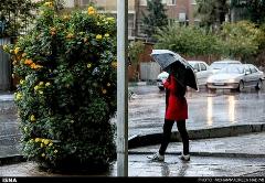 تهران بارانی در آخرین روزهای تابستان