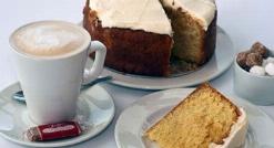 قنادی تی وی پلاس: آموزش پخت آسان و خانگی کیک کدو حلوایی در 5 دقیقه