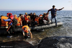 ادامه ورود مهاجران به جزیره لسبوس یونان