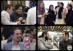 مهناز افشار کیک تولد یک نشریه را برش داد/گزارش تصویری