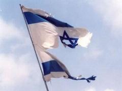 بنر روزشمار نابودی اسرائیل در تهران /عکس