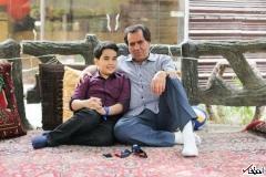 واکنش اوباما به عکس پدر و فرزند ایرانی