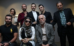گزارش تصویری نمایشگاه نقاشیهای مریم حیدرزاده